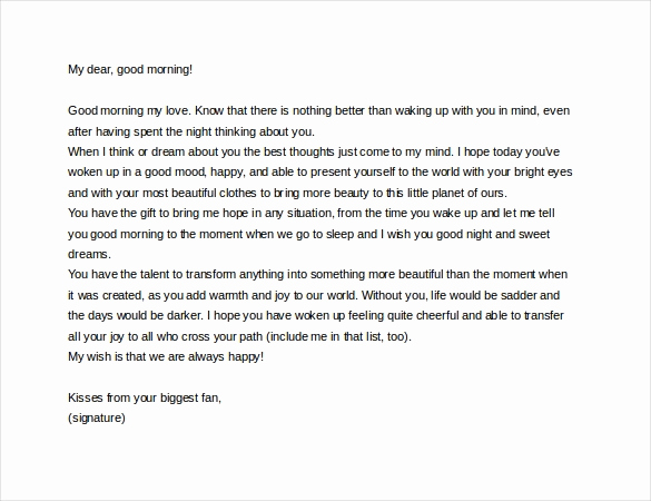 Love Letter to Wife New 7 Love Letter Templates to My Wife Pdf Doc