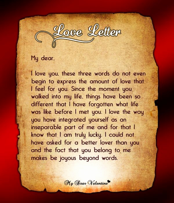 Love Letters to Him Awesome 17 Best Images About Love Letters for Him On Pinterest
