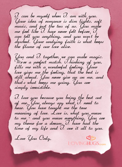 Love Letters to Him Inspirational Love City Love Letters