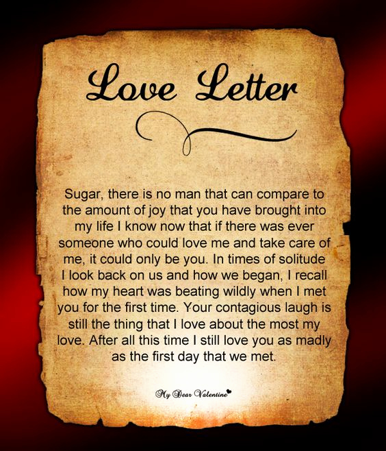 Love Letters to Him Inspirational Love Letter for Him 95 Love Letters for Him