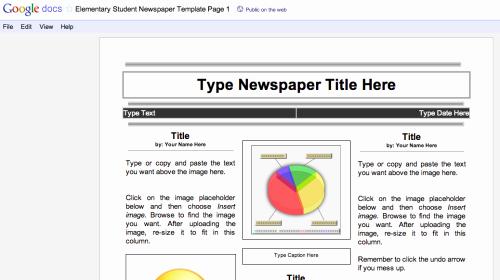 Magazine Template Google Docs Awesome Duh