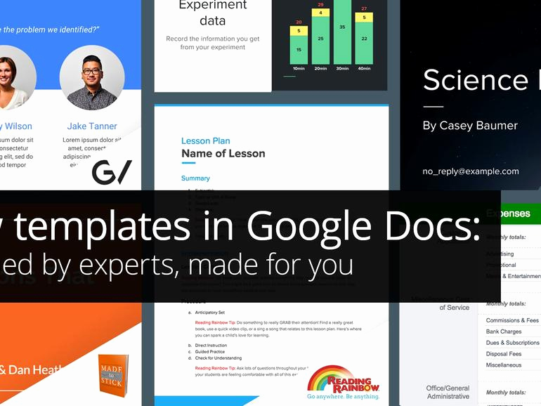Magazine Template Google Docs Lovely Google Docs Aims to Up Its Presentation Template Game