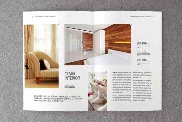 Magazine Template Google Docs Luxury Minimal Magazine Layout Google Search