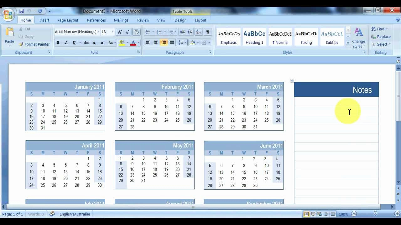 Make A Calendar In Word Beautiful How to Create A Calendar In Microsoft Word