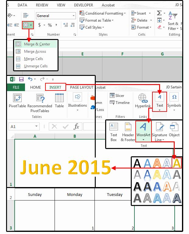 Make A Calendar In Word Elegant Excel S Best Tricks How to Make A Calendar