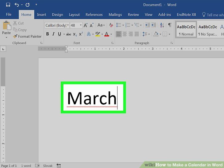 Make A Calendar In Word Fresh How to Make A Calendar In Word with Wikihow