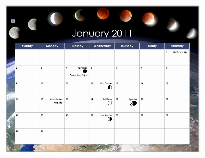 Make A Calendar In Word Inspirational Create A 2011 Calendar In Word 2010