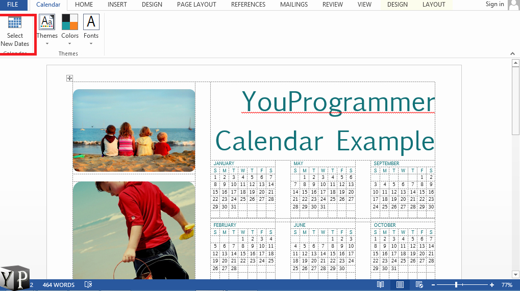 Make A Calender In Word Inspirational How to Make A Calendar In Word Document Youprogrammer