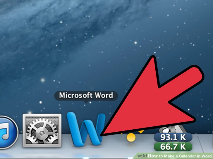 Make A Calender In Word Luxury How to Make A Calendar In Word with Wikihow