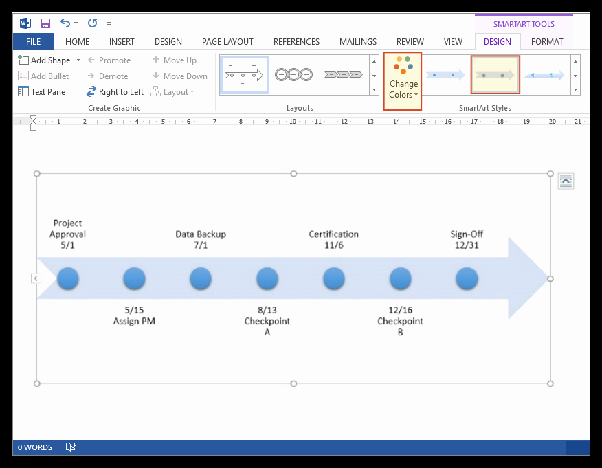 Make A Timeline In Word Best Of How to Make A Timeline In Microsoft Word Free Template