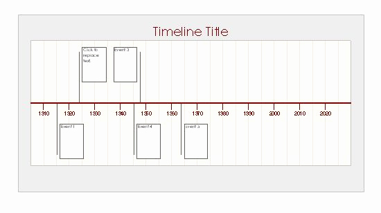 Make A Timeline In Word Fresh Ms Excel Timeline Template