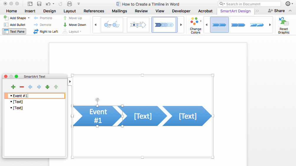 Make A Timeline In Word Inspirational How to Make A Timeline In Word & Free Template