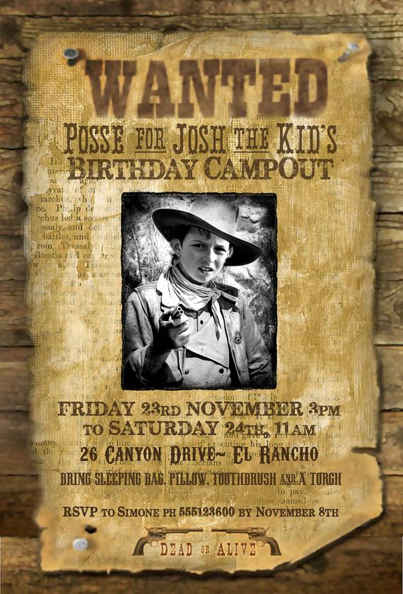 "Make A Wanted Poster Awesome Items Similar to Wild West ""wanted Poster"" Printable Party"