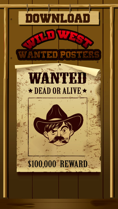 Make A Wanted Poster Beautiful Wild West Wanted Poster Maker Make Your Own Wild West