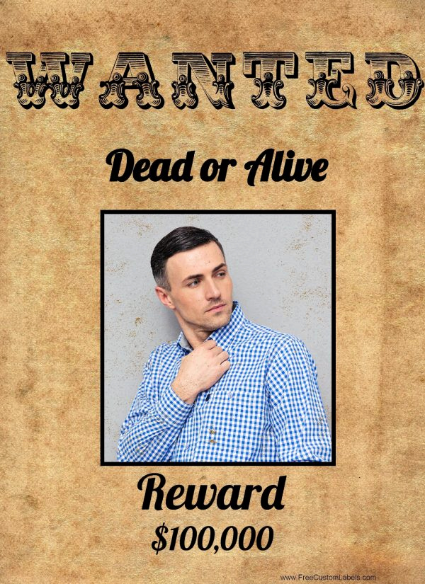 Make A Wanted Poster Best Of Free Wanted Poster Maker