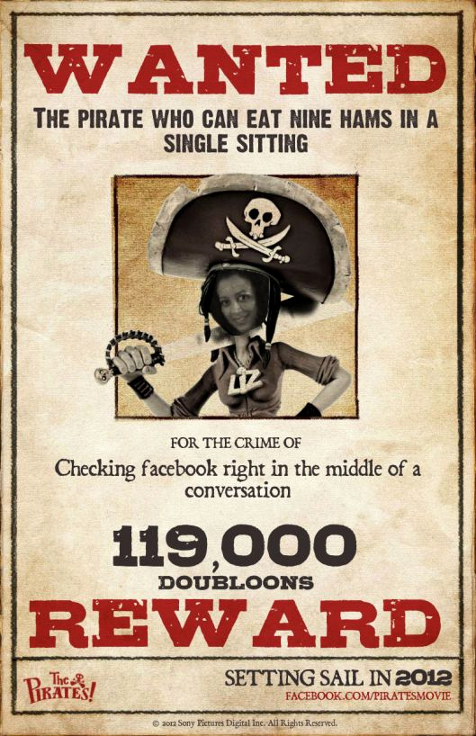 Make A Wanted Poster Elegant Calling All Pirates – Create Your Own Wanted Poster