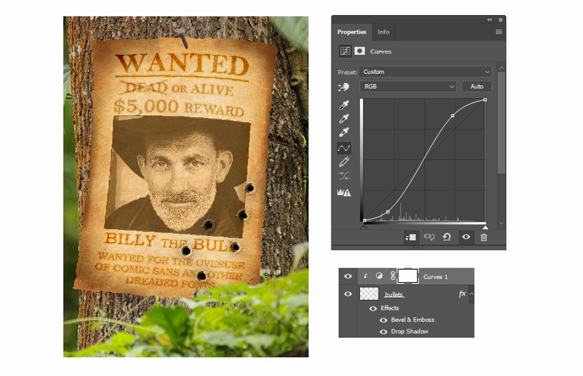 Make A Wanted Poster Elegant How to Create A Wanted Poster Manipulation In Adobe