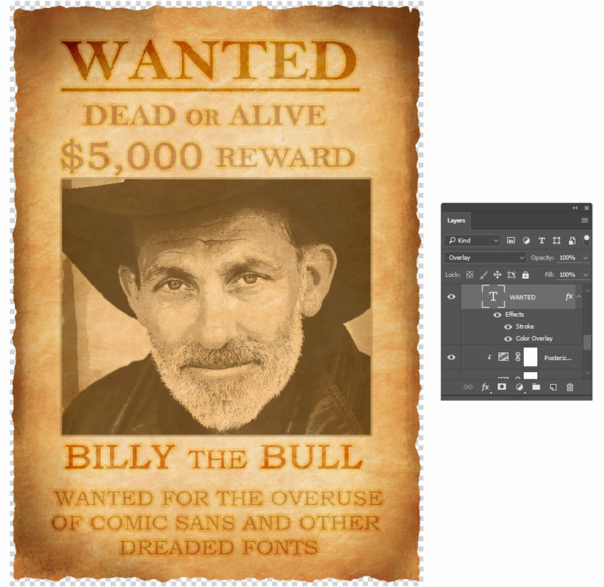 Make A Wanted Poster Luxury How to Create A Wanted Poster Manipulation In Adobe