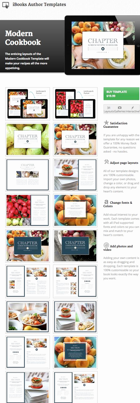 Make Your Own Cookbook Template Beautiful Create Your Own Cookbook Ibooks Author Cookbook Template