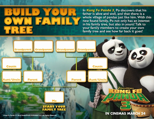 Make Your Own Family Tree Awesome Build Your Own Family Treetots to Teens