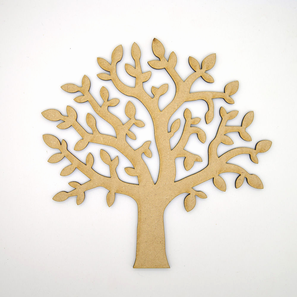 Make Your Own Family Tree Awesome Mdf Tree Shape Craft Blank Make Your Own Wooden Family
