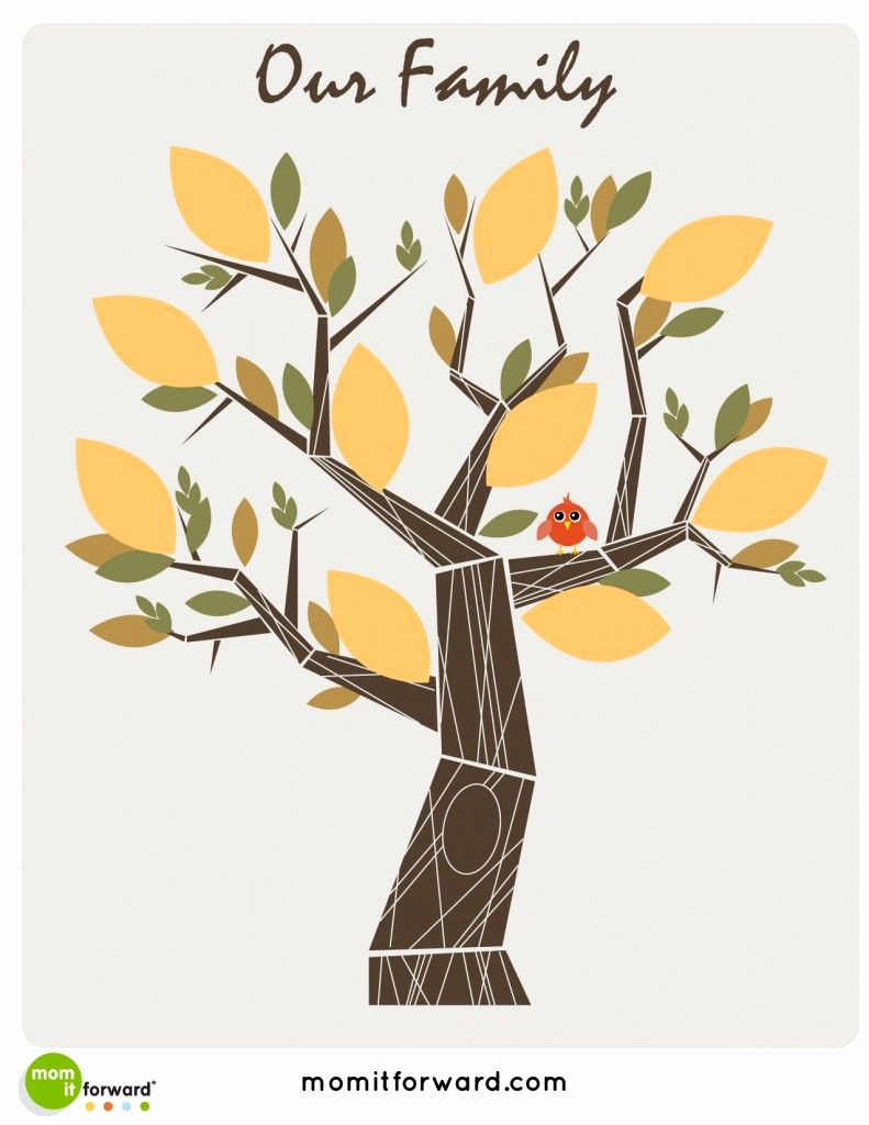 Make Your Own Family Tree Beautiful A Family Tree is A Diagram that Shows Relationships