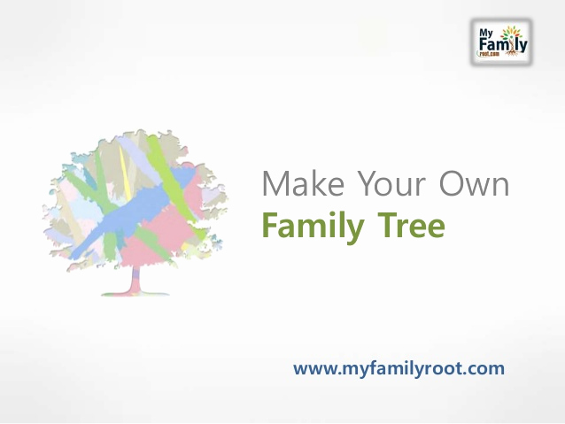 Make Your Own Family Tree Beautiful Make Your Own Family Tree