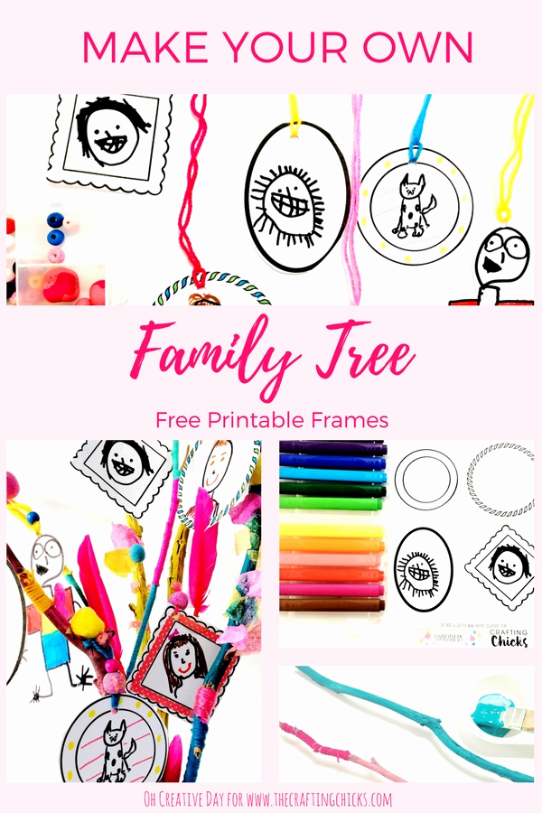 Make Your Own Family Tree Best Of Make Your Own Family Tree the Crafting Chicks
