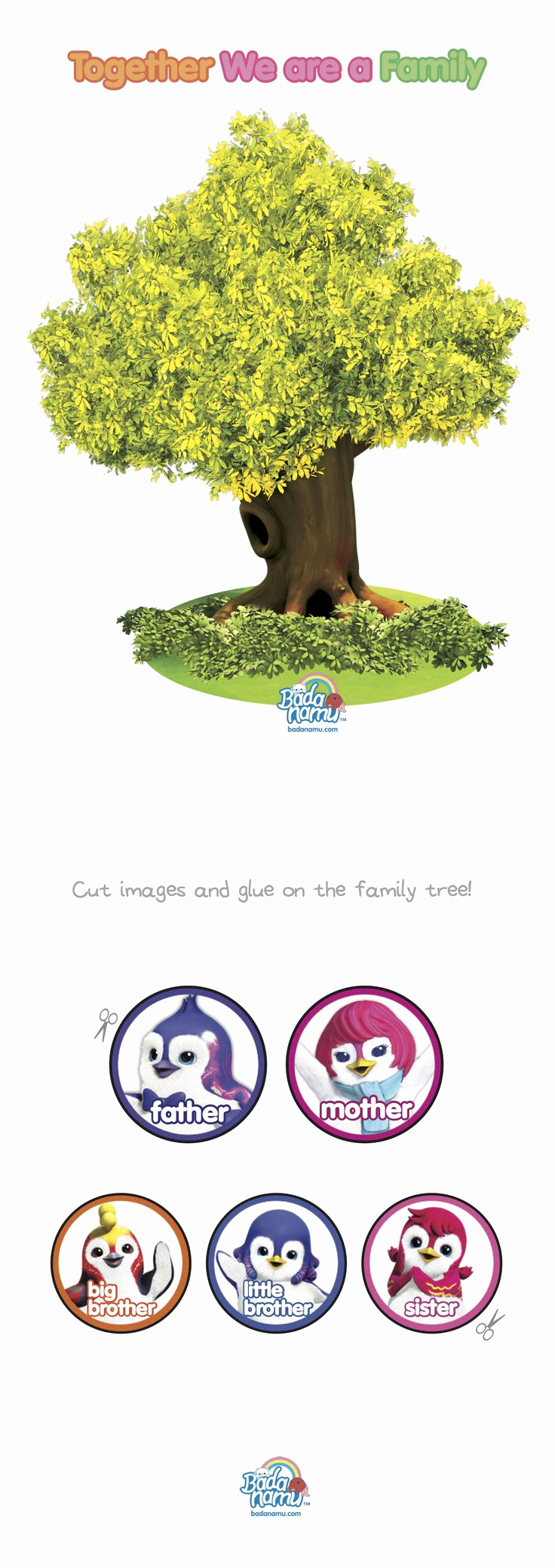 Make Your Own Family Tree Luxury 71 Best Images About toddler Printable On Pinterest