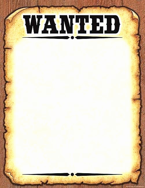 Make Your Own Wanted Poster Awesome Create A Wanted Poster Free