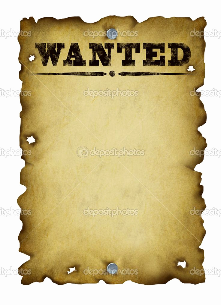 Make Your Own Wanted Poster Fresh Old West Wanted Poster Template Bing
