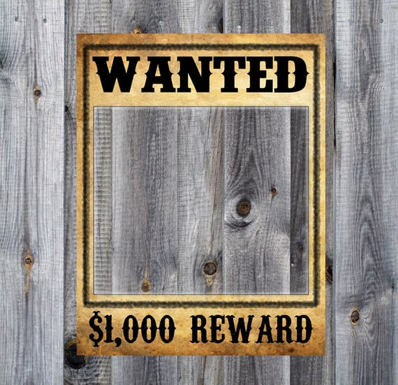 Make Your Own Wanted Poster Lovely Wanted Poster Western Cowboy Rodeo Birthday Party theme