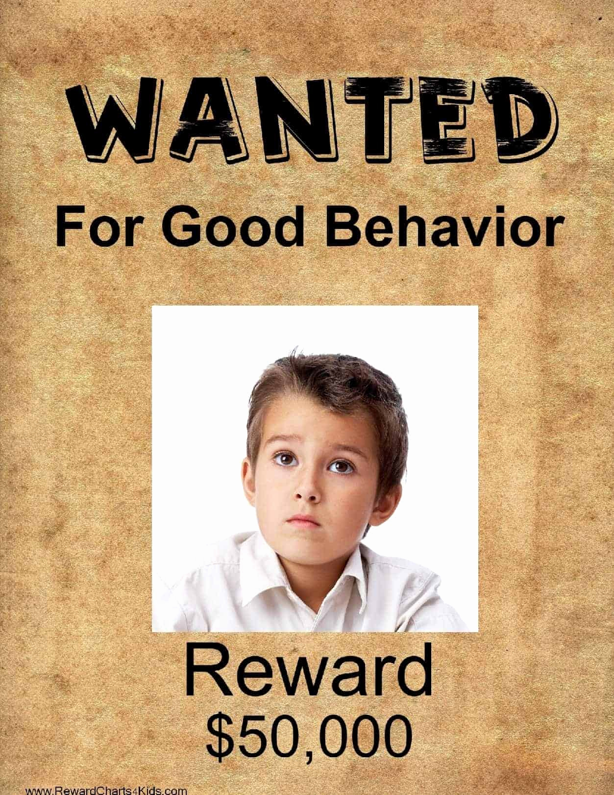 Make Your Own Wanted Poster Luxury Free Printable Wanted Poster Template