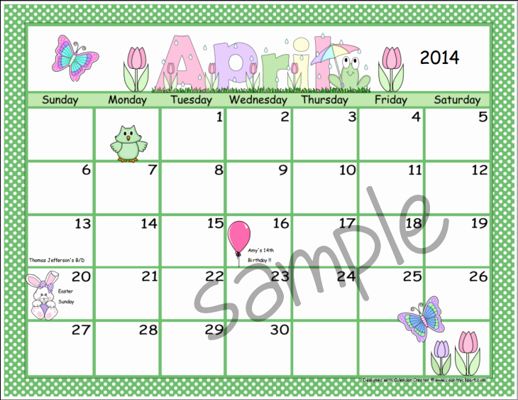 Making A Calendar Free Best Of Calendar Creator Make and Print Your Own Calendars