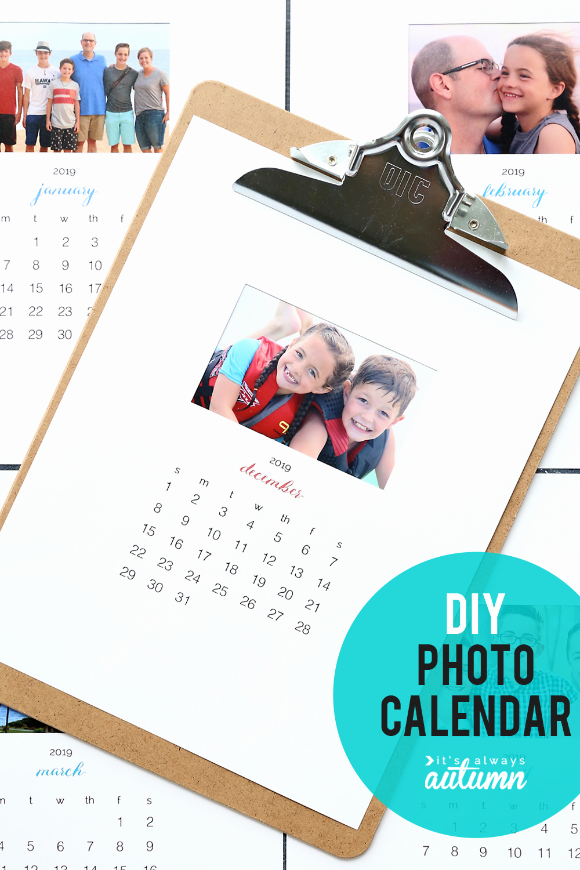 Making A Calendar Free Elegant Make Your Own Personalized Calendar Free Printable 2019