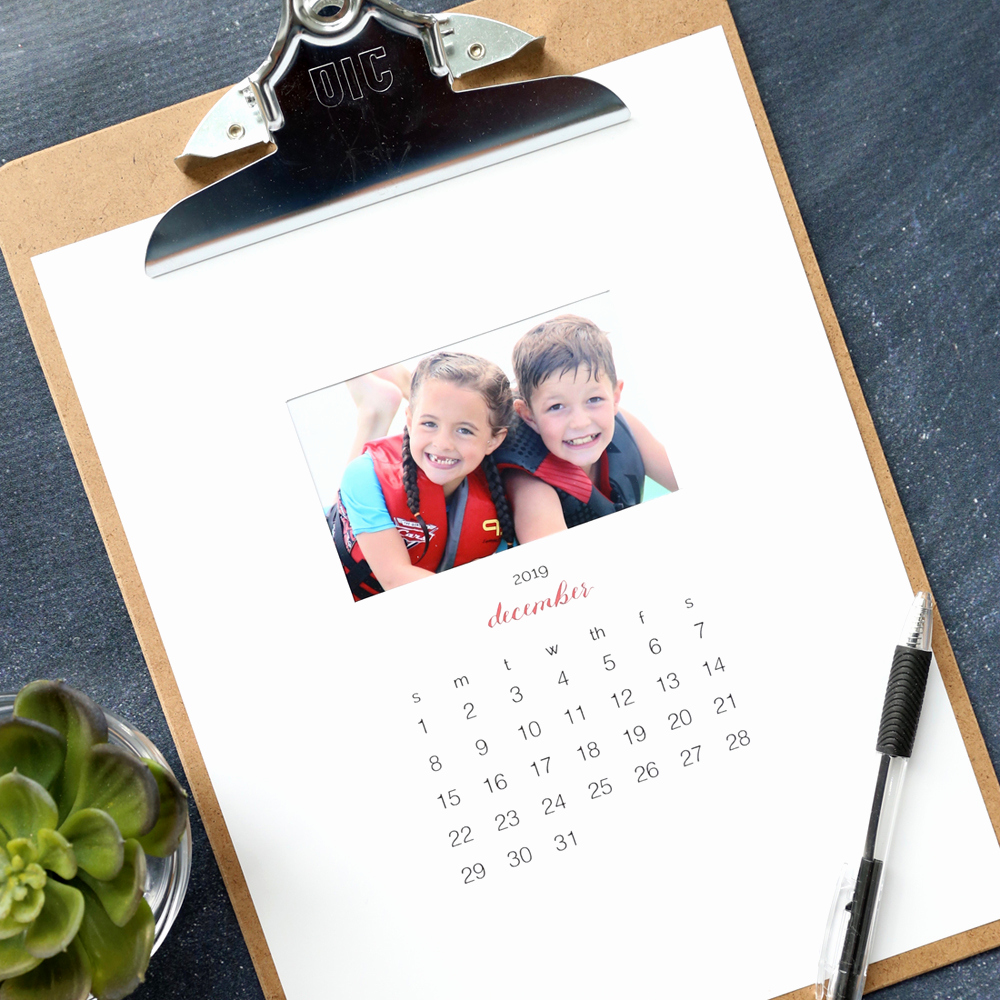 Making A Calendar Free Unique Make Your Own Personalized Calendar Free Printable 2019