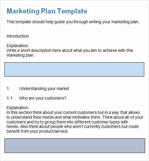 Marketing Plan Template Pdf Unique Sample Plan Template 26 Download Free Documents In Pdf