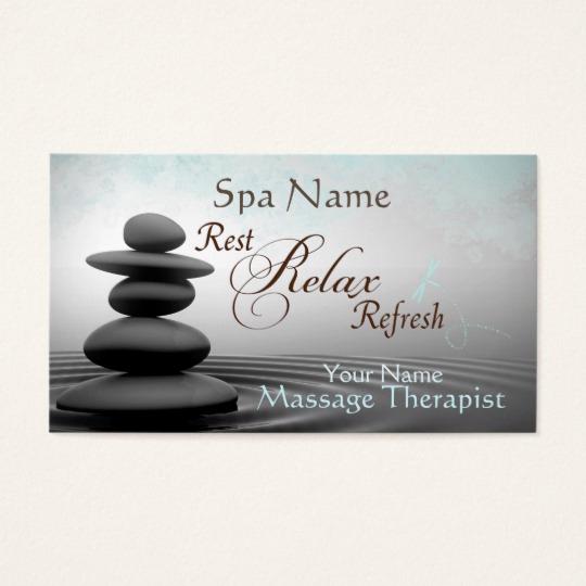 Massage therapist Business Cards Fresh Mystic Zen Design Massage therapist Business Card