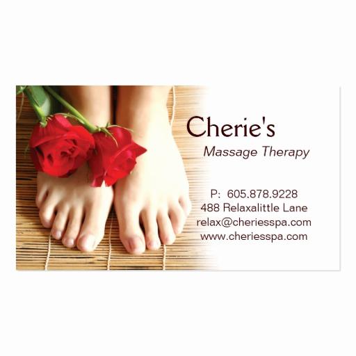 Massage therapist Business Cards New 311 Spa Salon Massage therapy Business Card