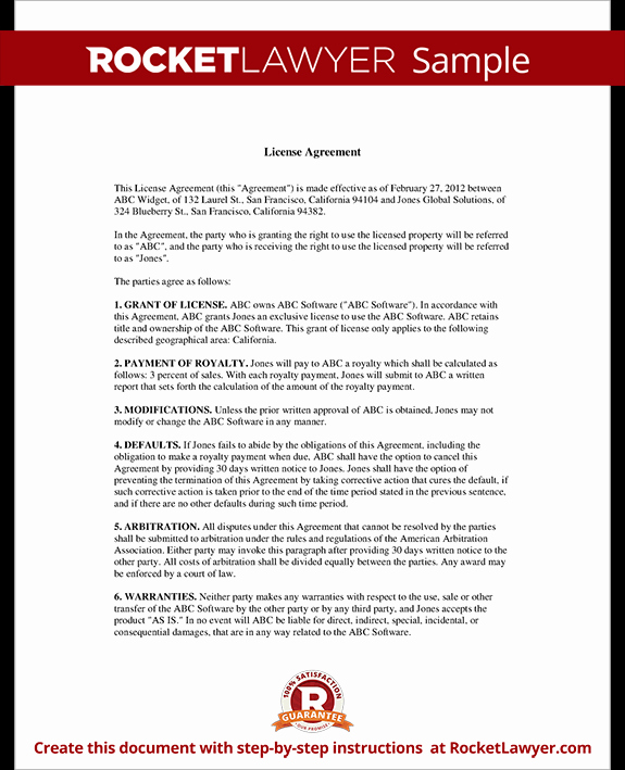Master Service Agreement Template Fresh Writing A Master Service Agreement