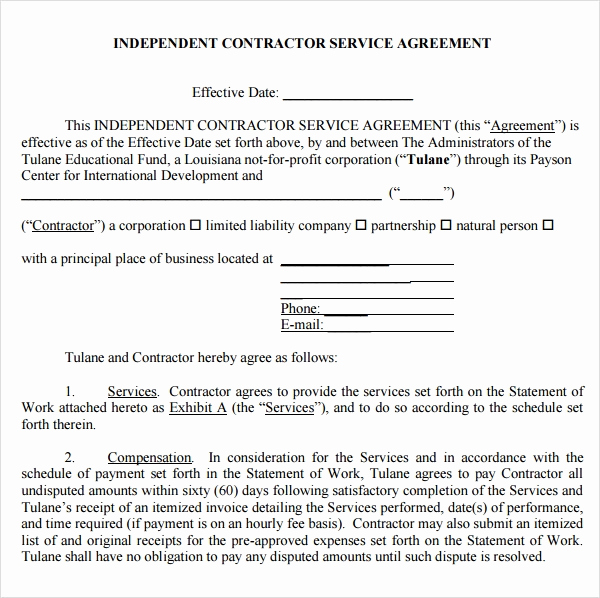Master Service Agreement Template Inspirational Sample Service Agreement Template 17 Free Documents