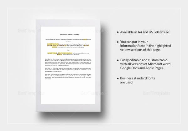 Master Service Agreement Template Lovely Master Service Agreement 15 Download Free Documents In