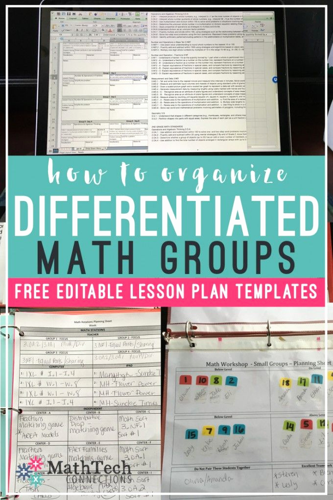 Math Lesson Plan Template Best Of 143 Best Images About Teaching On Pinterest