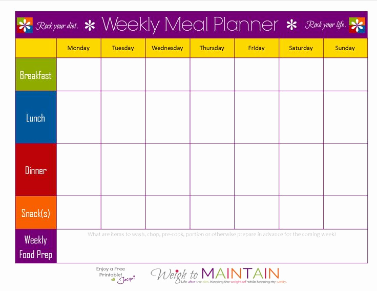 Meal Plan Template Pdf Fresh Meal Planning so Simple even A Gym Bro Can Do It – with