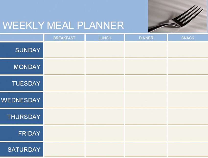 Meal Plan Template Word Luxury Weekly Meal Planner Template Haven