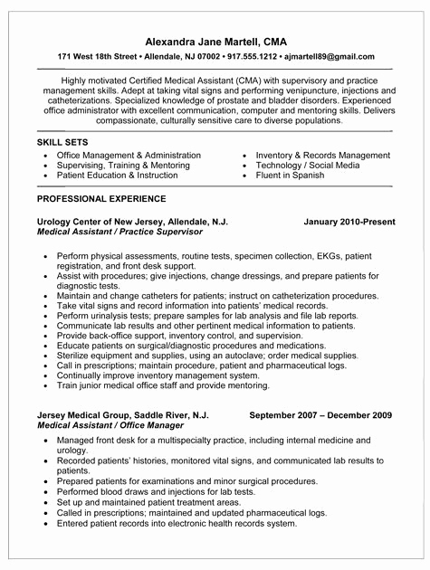 Medical assistant Resume Template Best Of Pin by Alliston Beasley On Medical assistant