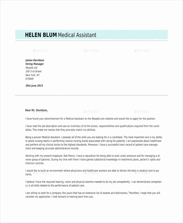 Medical assistant Resume Template Elegant 10 Medical assistant Resume Templates Pdf Doc