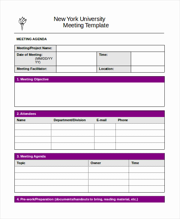Meeting Agenda Template Word Lovely Word Agenda Template 6 Free Word Documents Download
