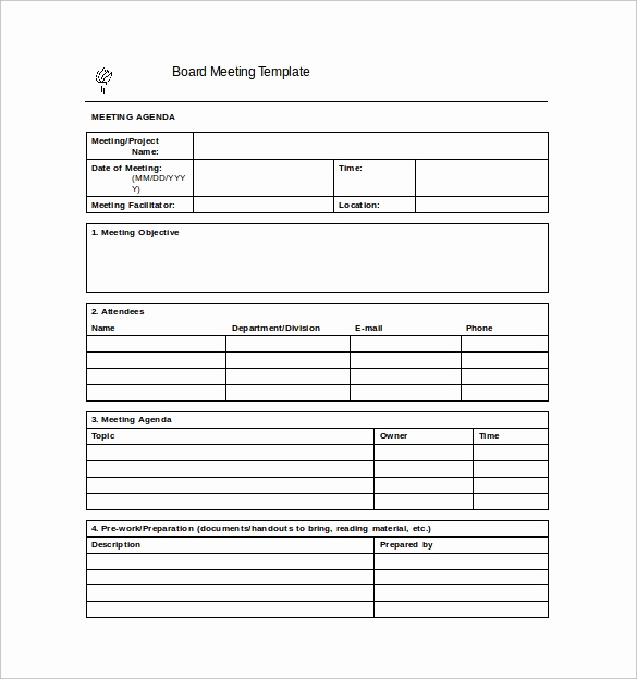 Meeting Minute Template Word Inspirational 44 Sample Meeting Minutes Template Google Docs Apple