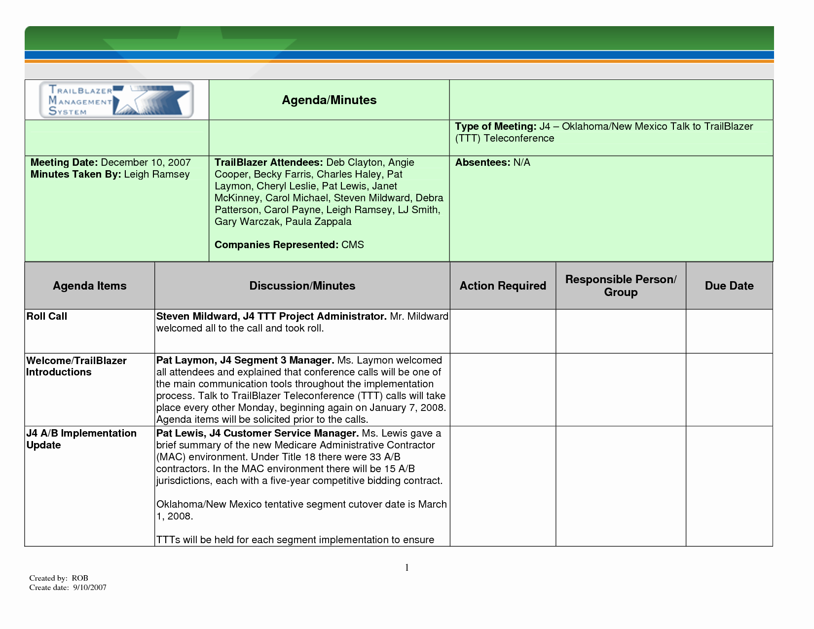 Meeting Minutes Template Doc Beautiful Printable Template Of Meeting Minutes